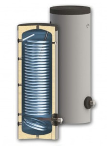 Water heaters for heat pump systems SWP NL