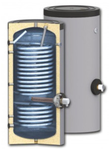 Water heaters for heat pump systems SWP 2N