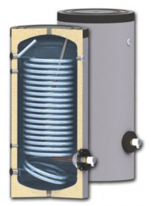 Water heaters for heat pump systems SWP N